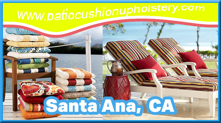 Patio Cushions Santa Monica California - SANTA MONICA - Patio Cushion Upholstery